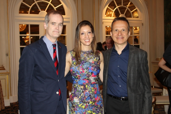 Jack Cummings III, Lori Fineman and Tom Kochan Photo