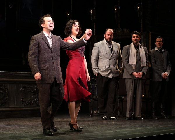 Rob McClure, Jennifer Bowles, Chris Sullivan, Ben Crawford and Sam Bolen