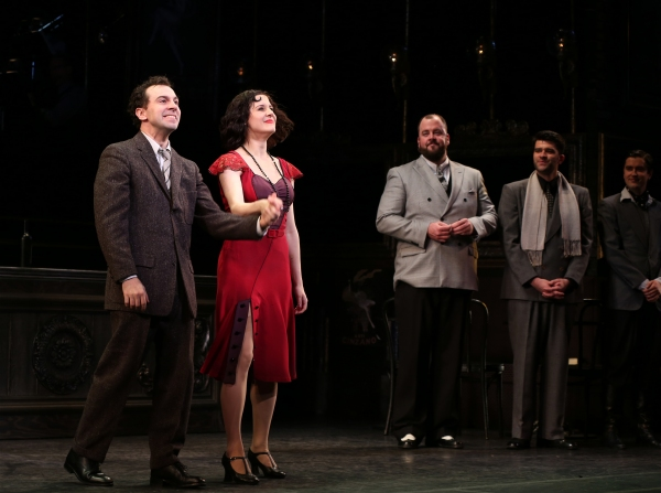 Photo Coverage: Encores! IRMA LA DOUCE Takes Opening Night Bows!
