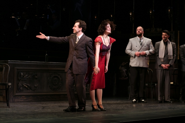 Rob McClure, Jennifer Bowles, Chris Sullivan and Ben Crawford