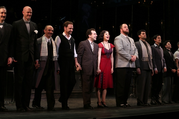 Ken Krugman, Zachary James, Stephen DeRodsa, Malcolm Gets, Rob McClure, Jennifer Bowles, Chris Sullivan, Ben Crawford, Sam Bolen and cast
