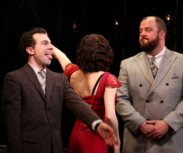 Rob McClure, Jennifer Bowles and Chris Sullivan
