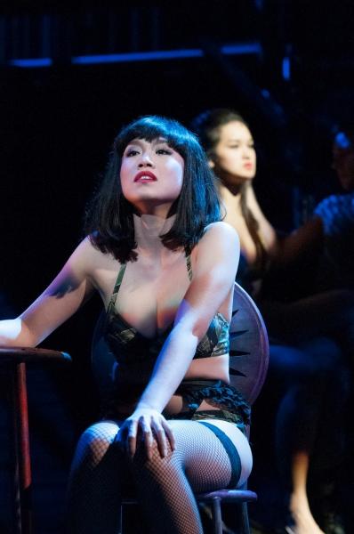 Rachelle Ann Go plays Gigi Van Tranh in MISS SAIGON.