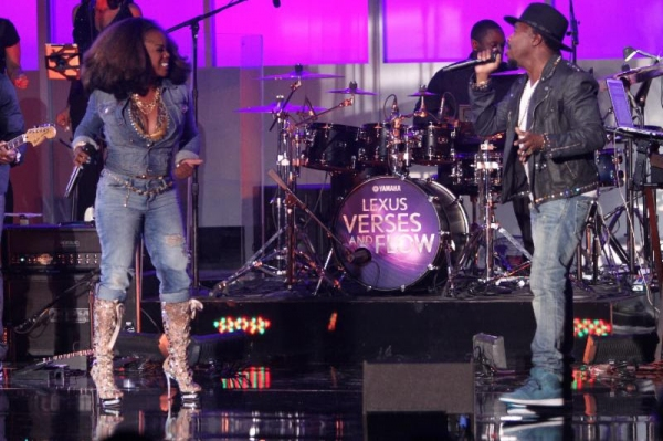 Photo Flash: Candice Glover & More on TV One's LEXUS VERSES AND FLOW Premiere