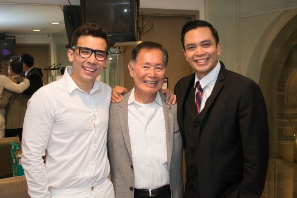 Photo Flash: George Takei Visits Public Theater's HERE LIES LOVE