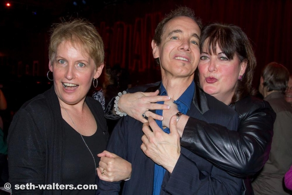 Liz Callaway, Ann Hampton Callaway and Jason Graae