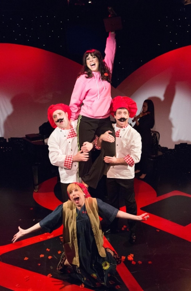 Photo Flash: New Production Shots from Walnut Street Theatre's I LOVE YOU, YOU'RE PERFECT, NOW CHANGE
