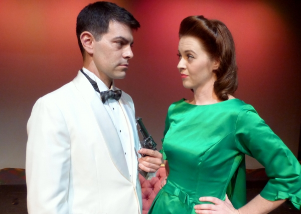 Midge (Heather Barnett) and Edward (David Tracq) find themselves with a serious problem.