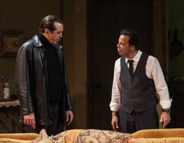 Chazz Palminteri and Kenny D''Aquila