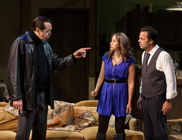 Chazz Palminteri, Elizabeth Rodriguez and Kenny D''Aquila