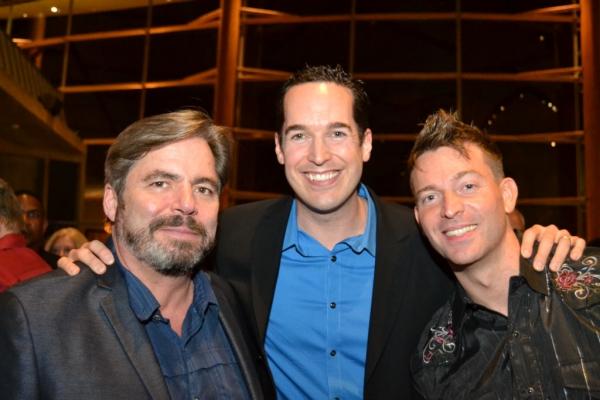 Rick Fox, Parker Esse and Levi Kreis