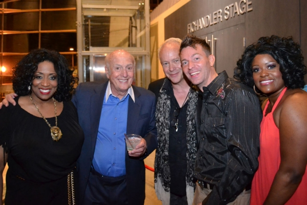 E. Faye Butler, Mike Stoller, Randy Johnson, Levi Kreis and Nova Y. Payton Photo