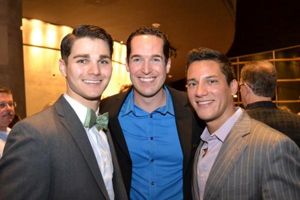 Austin Colby, Parker Esse and Nicholas Rodriguez