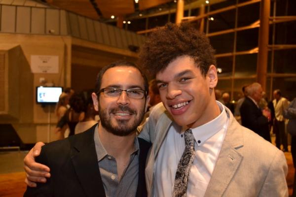 Danny Villanueva with Michael J. Mainwaring Photo