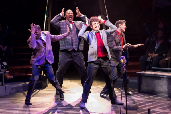 Photo Flash: First Look at Levi Kreis, Nova Y. Payton and More in SMOKEY JOE'S CAFE at Arena Stage