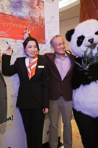 Photo Flash: PANDA! Celebrates 100 Shows at The Venetian & The Palazzo
