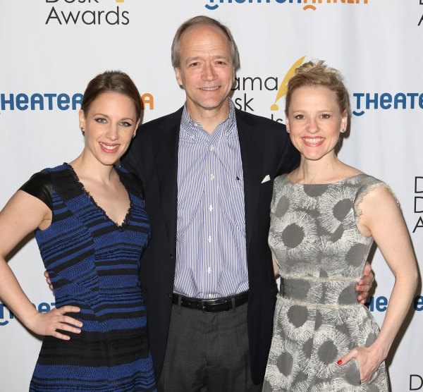 Photo Coverage: Arrivals at the 2014 Drama Desk Nominees Reception