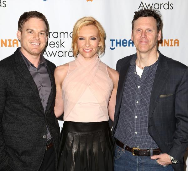 Michael C. Hall, Toni Collette and Will Eno  Photo