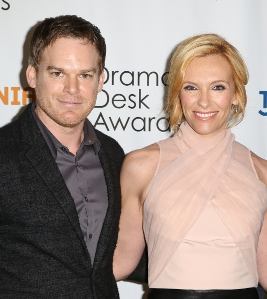 Michael C. Hall and Toni Collette