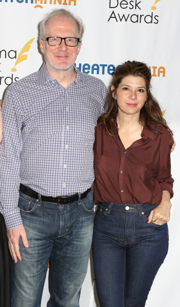 Tracy Letts and Marisa Tomei