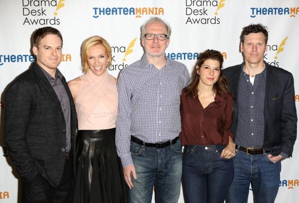 Michael C. Hall, Toni Collette, Tracy Letts, Marisa Tomei and Will Eno Photo