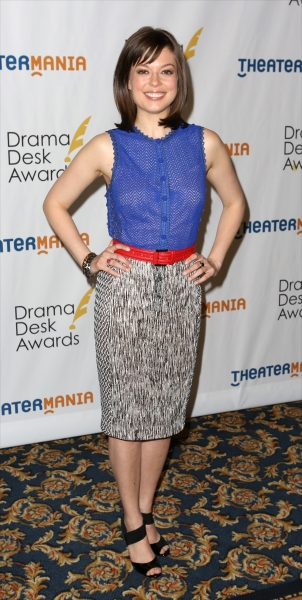 Photo Coverage: Head to Toe Fashion at the 2014 Drama Desk Nominees Reception