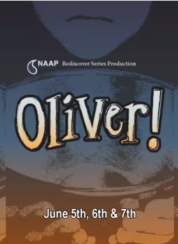 NAAP Presents OLIVER!, Starring An All-Asian Cast, 6/5-7