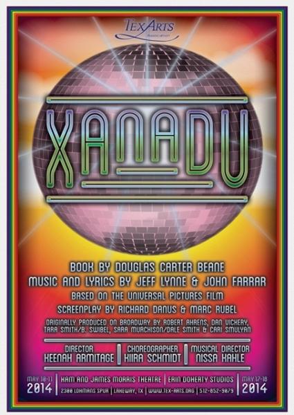 Photo Flash: First Look At TexARTS' XANADU