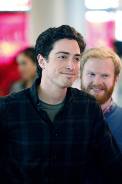 A TO Z -- ''Pilot'' -- Pictured: (l-r) Ben Feldman as Andrew Lofland, Henry Zebrowski as Stu -- (Photo by: Trae Patton/NBC)