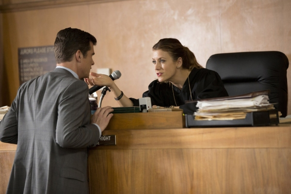 BAD JUDGE -- ''Pilot'' -- Pictured: (l-r) John Ducey as Tom, Kate Walsh as Rebecca -- (Photo by: John Fleenor/NBC)