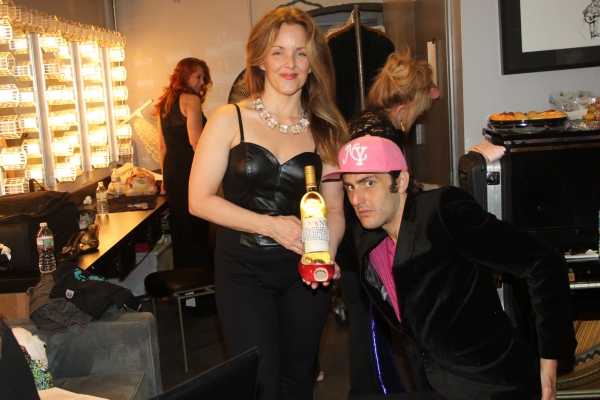 Photo Coverage: Backstage at EVERYTHING'S COMING UP BROADWAYWORLD.COM at Joe's Pub