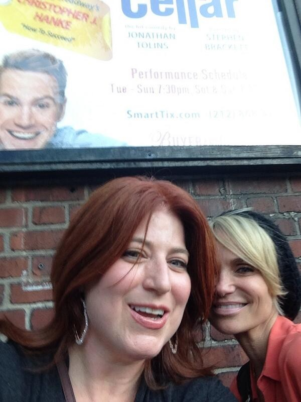 Twitter Watch: Kristin Chenoweth and Anne L. Nathan Visit BUYER AND CELLAR