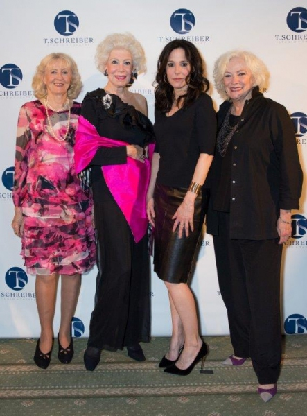 Francine Haskell and Jano Herbosch with Mary Louise Parker and Betty Buckley