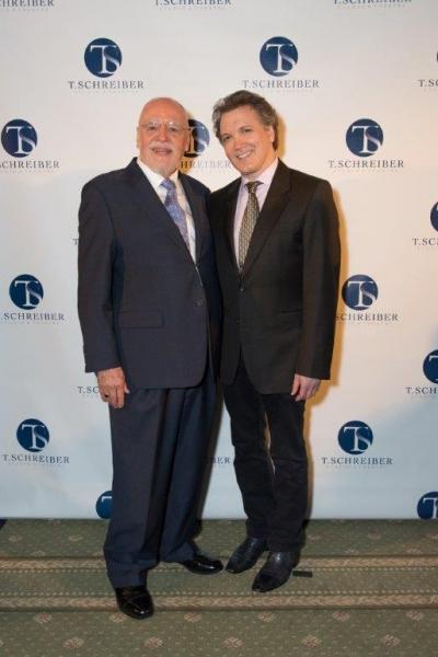 Terry Schreiber and Charles Bush Photo