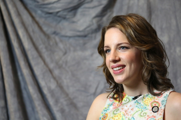 In the Spotlight Series: In the Tonys Photo Booth with Nominee Jessie Mueller