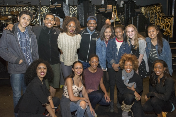 Photo Flash: Rosie's Theater Kids Visit AFTER MIDNIGHT