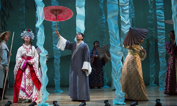 Photo Flash: First Look at Mary Zimmerman's THE WHITE SNAKE