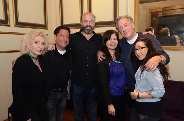 Photo Flash: Debbie Harry, Janeane Garofalo, Mario Cantone and Rachel Dratch in CELEBRITY AUTOBIOGRAPHY