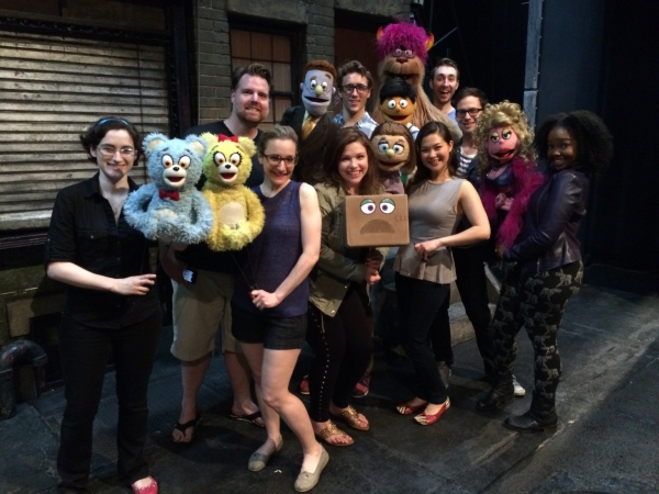 Photo Flash: Tony Nominee Mary Bridget Davies Visits AVENUE Q