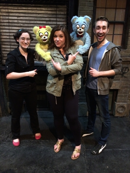Stacey Weingarten, Mary Bridget Davies, Jason Jacoby and the Bad Idea Bears