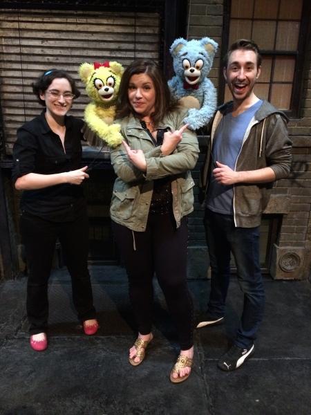 Stacey Weingarten, Mary Bridget Davies, Jason Jacoby and the Bad Idea Bears Photo