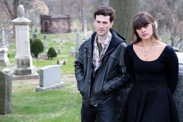 Cory Asinofsky (George) and Amanda Brooklyn (Emily)