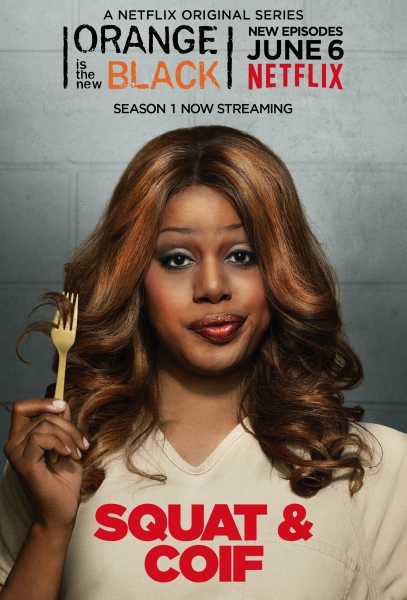 Photo Flash: First Wave of Character Posters for ORANGE IS THE NEW BLACK Season 2