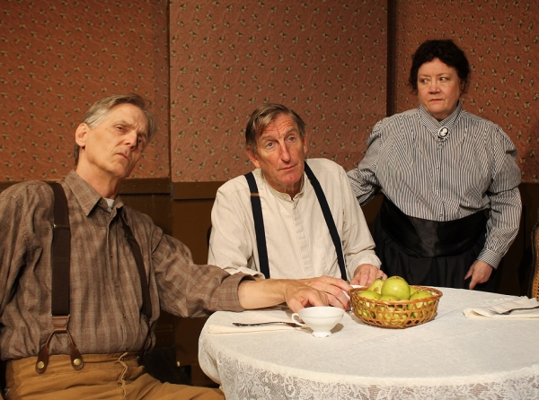 Steve Peterson, Hap Lawrence, Deborah Cresswell  Photo