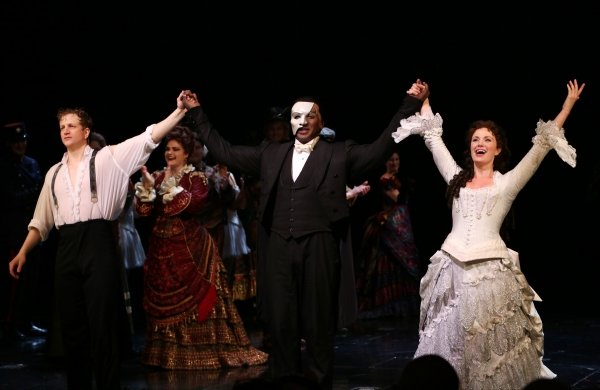 Photo Coverage: Phantastic! Norm Lewis and Sierra Boggess in THE PHANTOM OF THE OPERA - First Curtain Call!