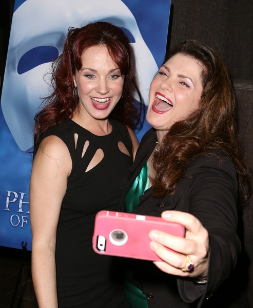 Sierra Boggess and Michele McConnell