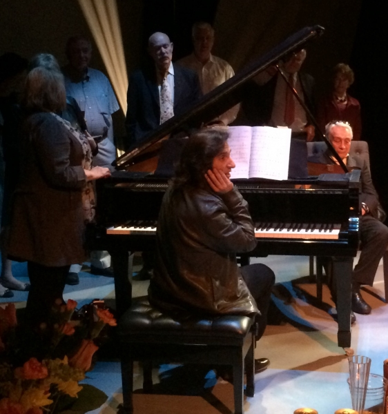Photo Flash: Cast of JACK LEMMON RETURNS Celebrates Opening Night at The Royal George Theatre
