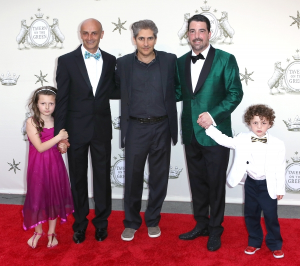 David Salama, Michael Imperioli, Jim Caiola and kids