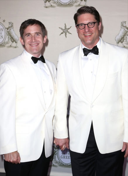 Kevin Burrows and Christopher Sieber  Photo
