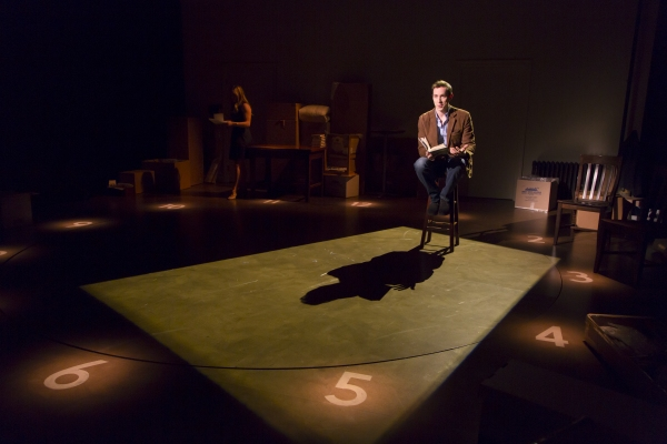 Photo Flash: First Look at Adam Halpin and Katie Rose Clarke in Long Wharf's THE LAST FIVE YEARS